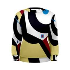 Digital abstraction Women s Sweatshirt
