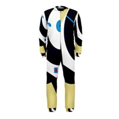 Digital abstraction OnePiece Jumpsuit (Kids)