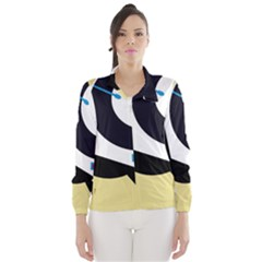 Digital abstraction Wind Breaker (Women)