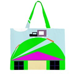 Abstract landscape  Large Tote Bag