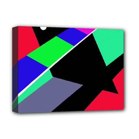 Abstract fish Deluxe Canvas 16  x 12