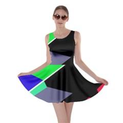 Abstract fish Skater Dress