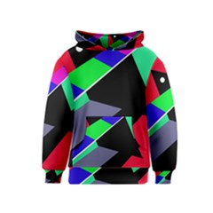 Abstract fish Kids  Pullover Hoodie