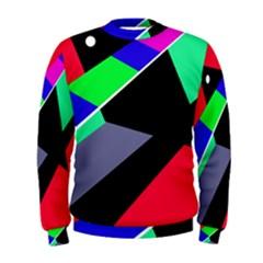Abstract fish Men s Sweatshirt