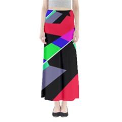 Abstract Fish Maxi Skirts