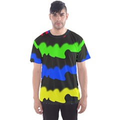 Colorful abstraction Men s Sport Mesh Tee