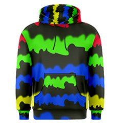 Colorful abstraction Men s Pullover Hoodie