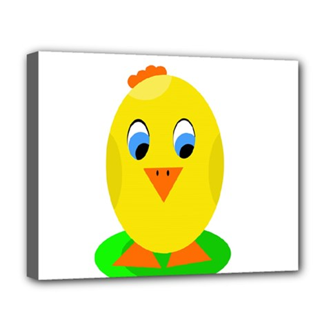 Cute chicken  Deluxe Canvas 20  x 16