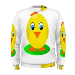 Cute chicken  Men s Sweatshirt