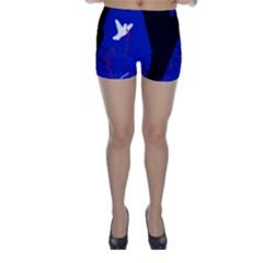 Night birds  Skinny Shorts
