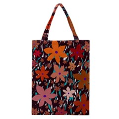 Orange flowers  Classic Tote Bag