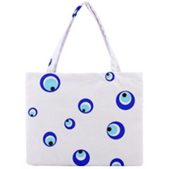 Mediterranean blue eyes Mini Tote Bag