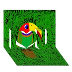Toucan I Love You 3D Greeting Card (7x5)