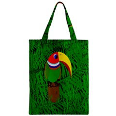 Toucan Zipper Classic Tote Bag