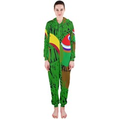 Toucan Hooded Jumpsuit (Ladies)
