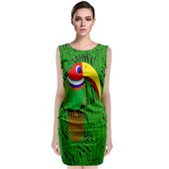 Toucan Classic Sleeveless Midi Dress