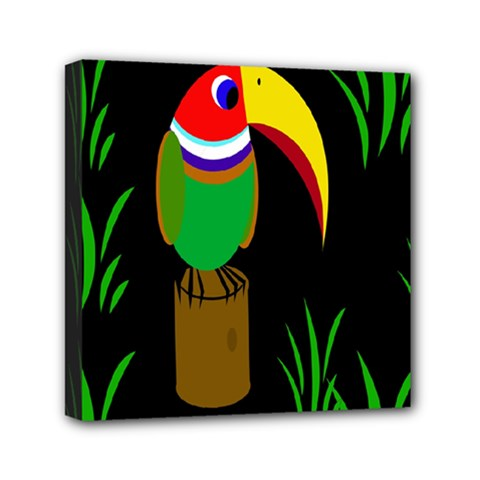 Toucan Mini Canvas 6  x 6