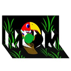 Toucan MOM 3D Greeting Card (8x4)