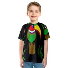 Toucan Kid s Sport Mesh Tee