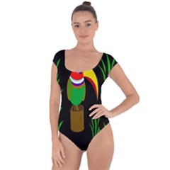 Toucan Short Sleeve Leotard