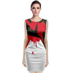 Volcano  Classic Sleeveless Midi Dress