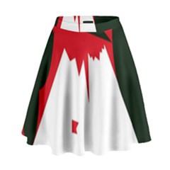 Volcano  High Waist Skirt
