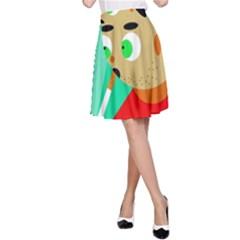 Smoker  A-Line Skirt