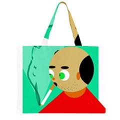 Smoker  Large Tote Bag
