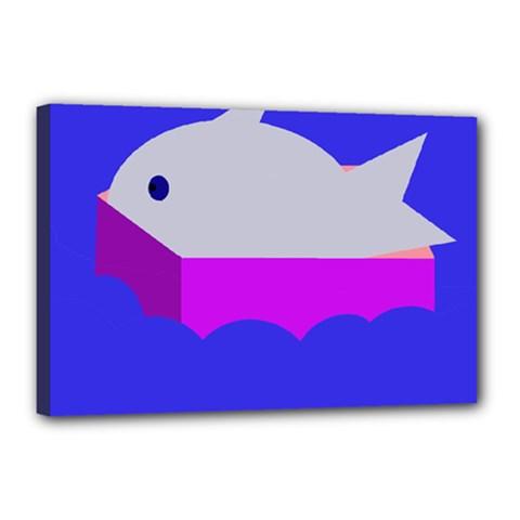 Big fish Canvas 18  x 12