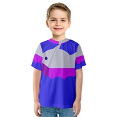Big fish Kid s Sport Mesh Tee