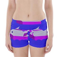 Big Fish Boyleg Bikini Wrap Bottoms