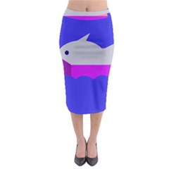 Big Fish Midi Pencil Skirt
