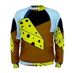 Cheese  Men s Sweatshirt