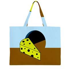 Cheese  Large Tote Bag