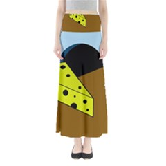 Cheese  Maxi Skirts