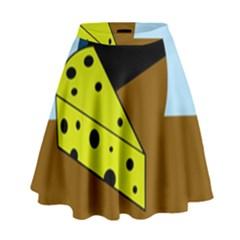 Cheese  High Waist Skirt