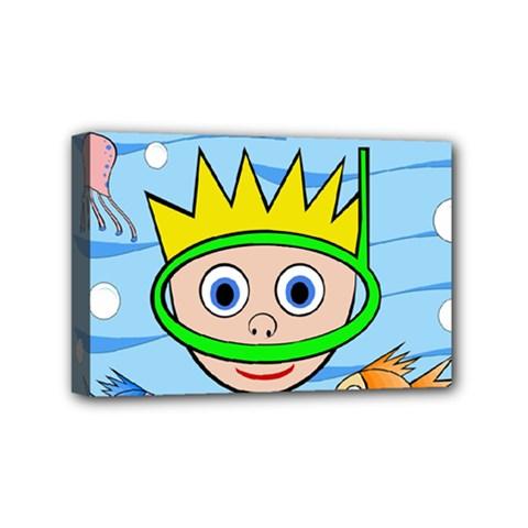 Diver Mini Canvas 6  x 4