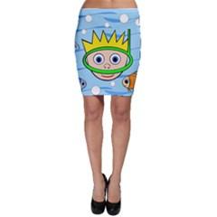 Diver Bodycon Skirt