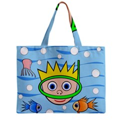 Diver Mini Tote Bag