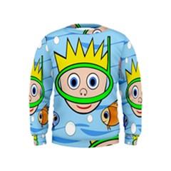 Diver Kids  Sweatshirt
