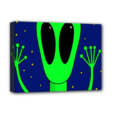 Alien  Deluxe Canvas 16  x 12