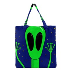 Alien  Grocery Tote Bag