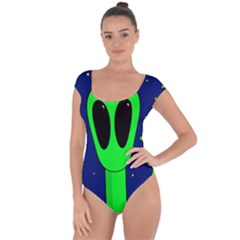 Alien  Short Sleeve Leotard