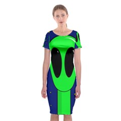 Alien  Classic Short Sleeve Midi Dress