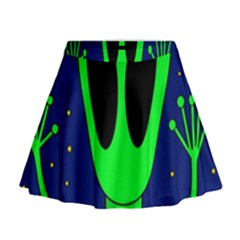 Alien  Mini Flare Skirt