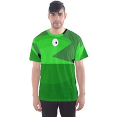 Green monster fish Men s Sport Mesh Tee