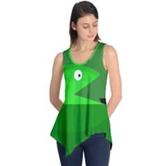 Green monster fish Sleeveless Tunic