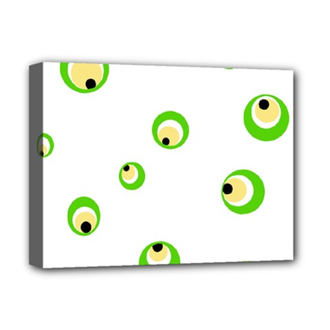 Green eyes Deluxe Canvas 16  x 12