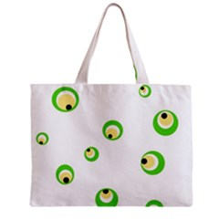 Green eyes Mini Tote Bag