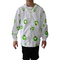 Green Eyes Hooded Wind Breaker (kids)